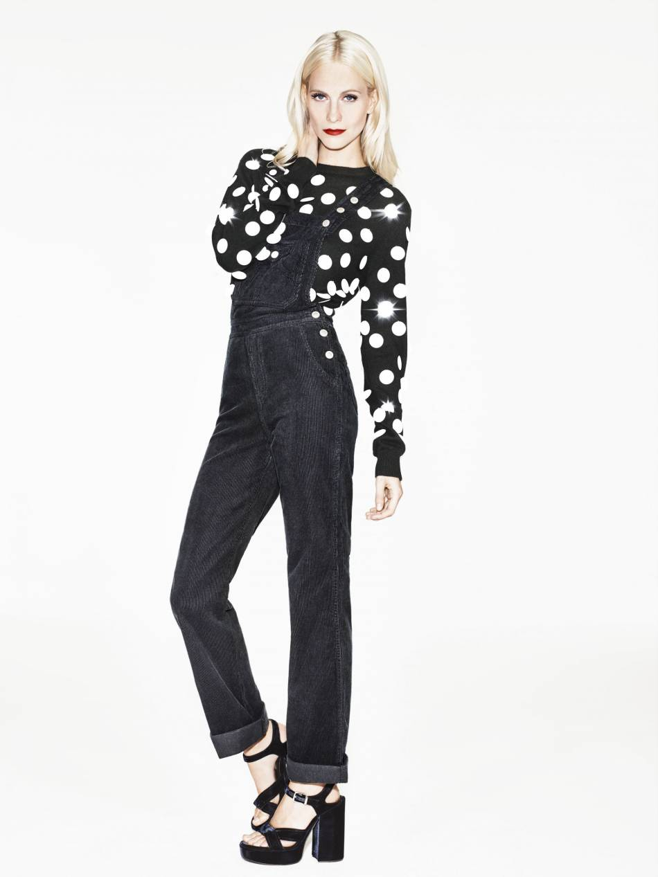 Poppy Delevingne pour l'association Save The children.