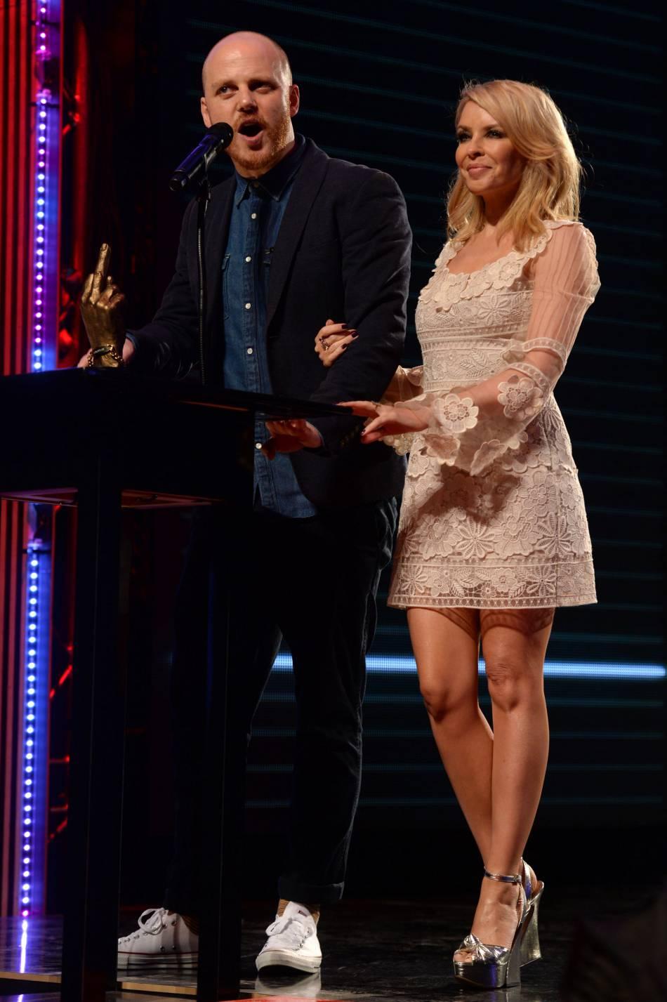 Kylie Minogue était l'atout charme des NME Awards 2016.