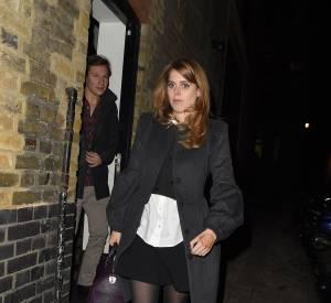 La princesse était accompagnée de son petit ami Dave Clark.