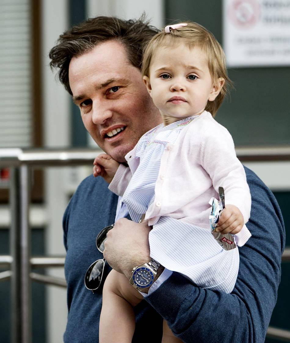 La princesse est ici en compagnie de son père, Chris O'Neill.