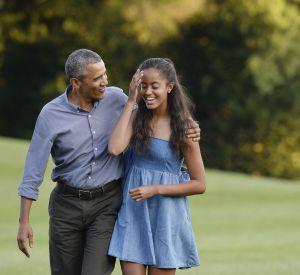 Après un bref discours, le chef d'État a chanté pour les 18 ans de sa fille.