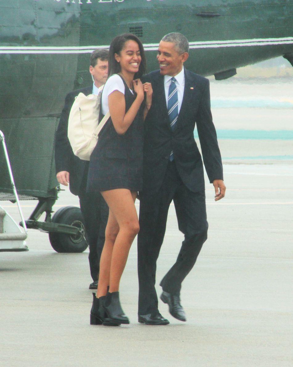 Malia Obama ira étudier à Harvard comme ses parents.