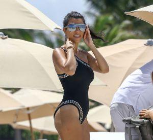 Kourtney Kardashian, sulfureuse sur les plages de Miami !