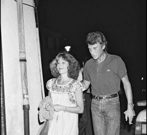 Nathalie Baye Et Johnny Hallyday en 1983.