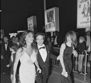 Nathalie Baye avec Jacqueline Bisset et François Truffaut, à Cannes en 1973.
