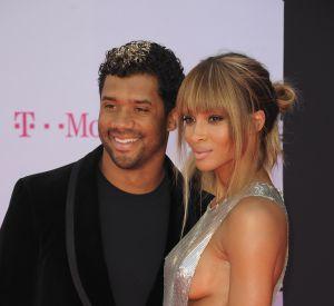 Ciara et son mari Russell Wilson semblent aux anges. Seule ombre au tableau, les menaces du rappeur Future, ex de Ciara, à leur encontre.