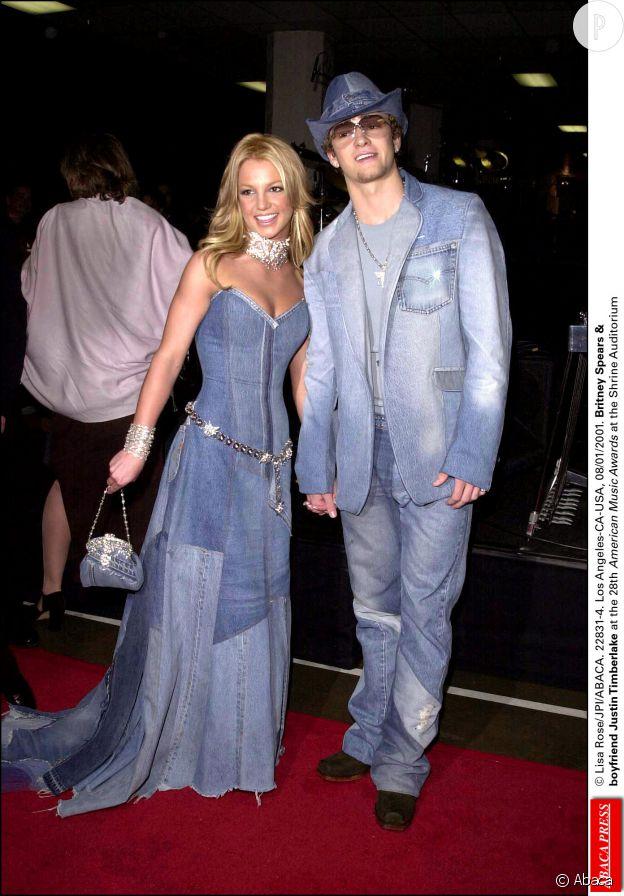 Justin Timberlake et Britney Spears. La photo est devenue mythique.