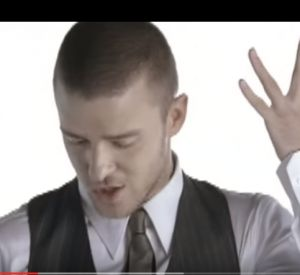 """Sexyback"" extrait de son album ""Futuresex Lovesound""."