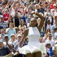 Serena Williams est en finale face à Angélique Kerber à Wibledon.