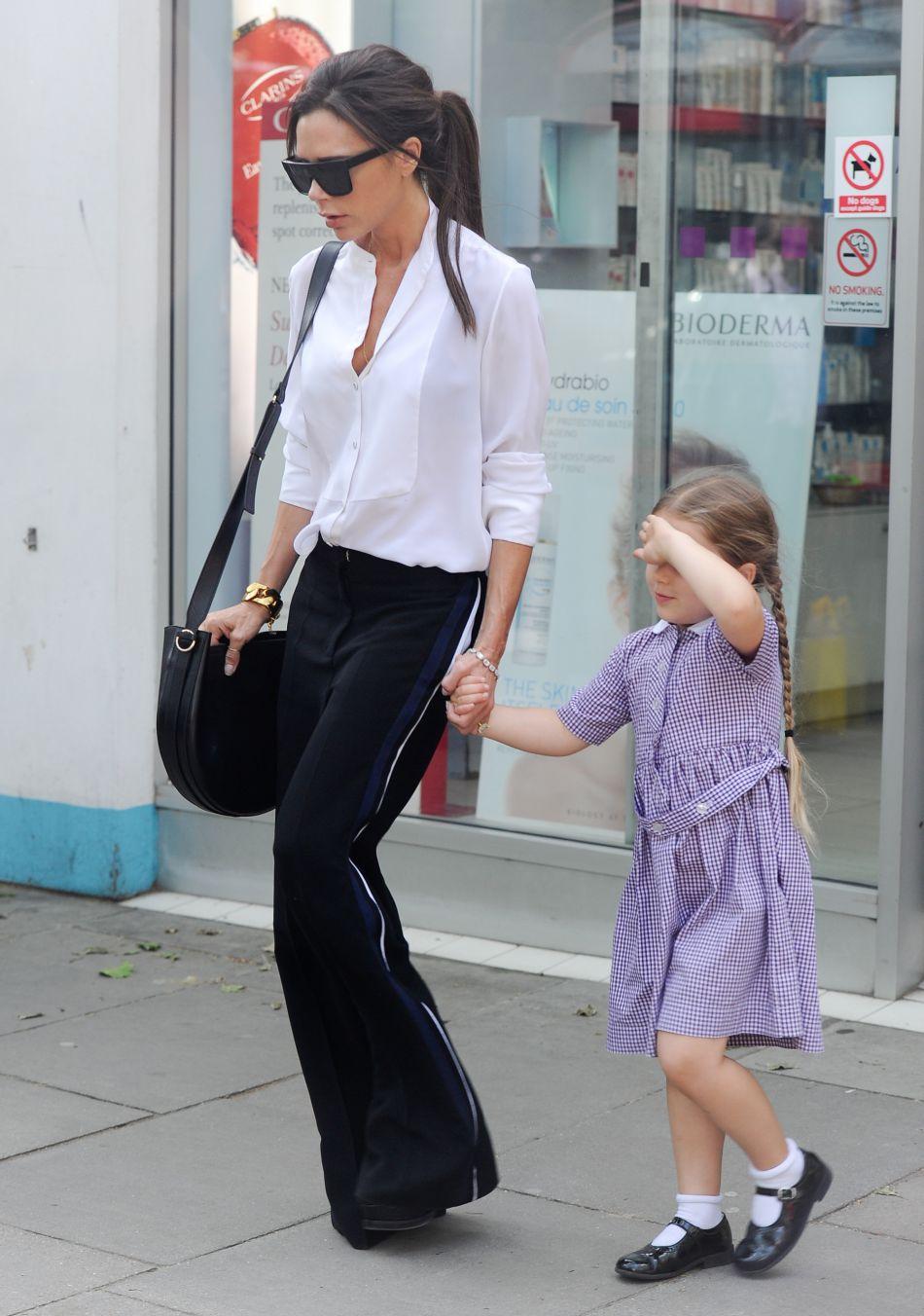 La petite Harper Beckham a fêté ses cinq ans ce dimanche 10 juillet.