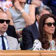 Kate Middleton et William, très concentrés sur le match de Andy Murray.