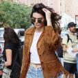 Kendall Jenner décontractée et bohème ce dimanche à New York.