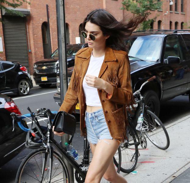 Kendall Jenner à New York le 10 juillet 2016.