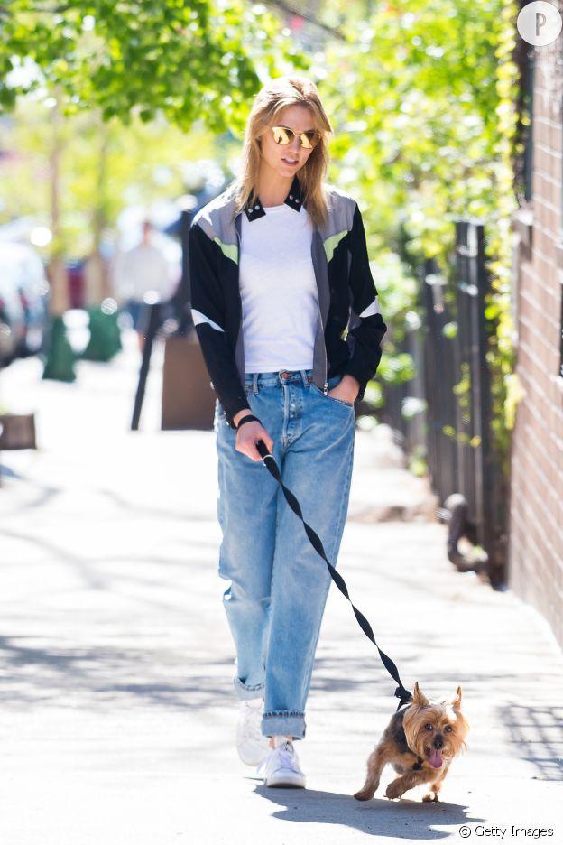 Le street look interprété par Karlie Kloss.