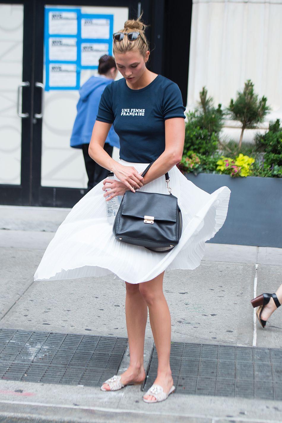 Cette jupe qui vole est la parfaite pièce de l'été.