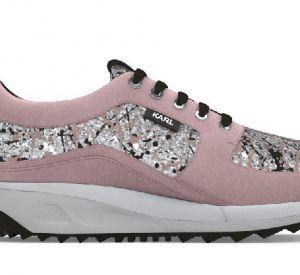 Les chaussures d'inspiration crées par Karl Lagerfeld sur son site.