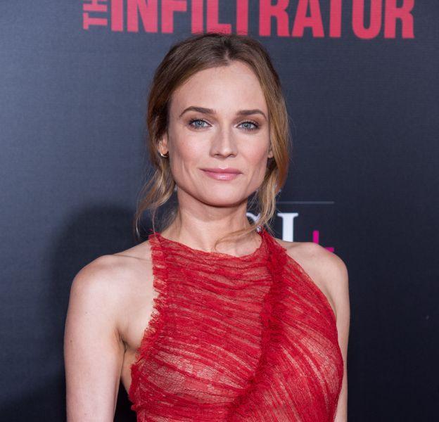"""Diane Kruger à la première de """"The Infiltrator"""" ce 11 juillet 2016 à New York."""
