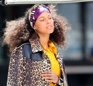 "Alicia Keys : fidèle à son look ""no make up"", elle s'affiche au naturel"