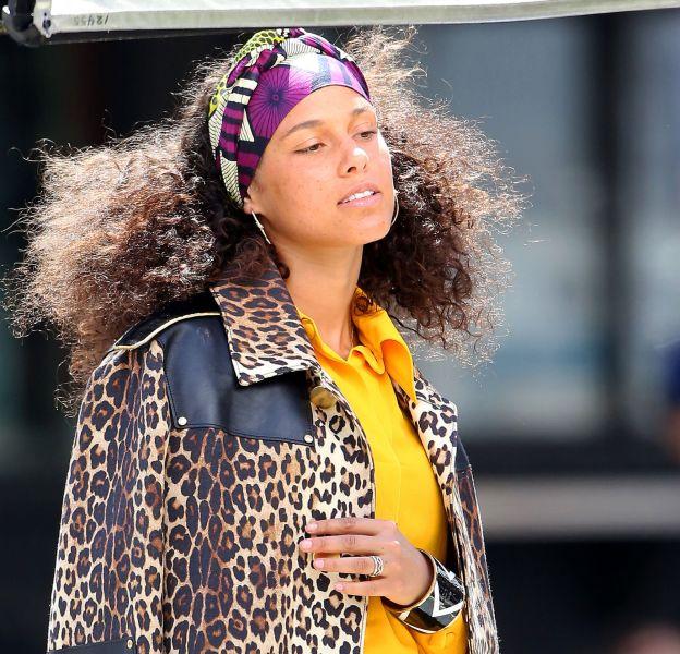 Alicia Keys a bel et bien décidé d'arrêter de se maquiller, et ce même lors de shooting photo.