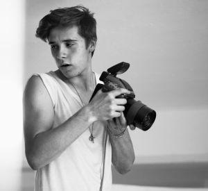 Le fils de David Beckham, héros d'une époque à l'appareil photo.