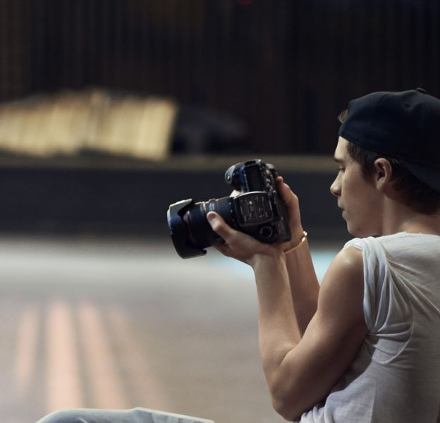 Brooklyn Beckham, photographe de talent pour Burberry.