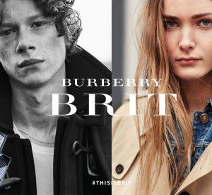 La nouvelle campgane Burberry Brit.