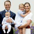 Victoria de Suède, une jeune maman comblée pour son anniversaire.