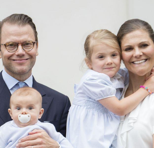 Victoria et Daniel de Suède en famille le 14 juillet 2016 à Borgholm.