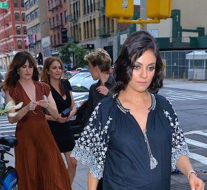 Mila Kunis à New York.