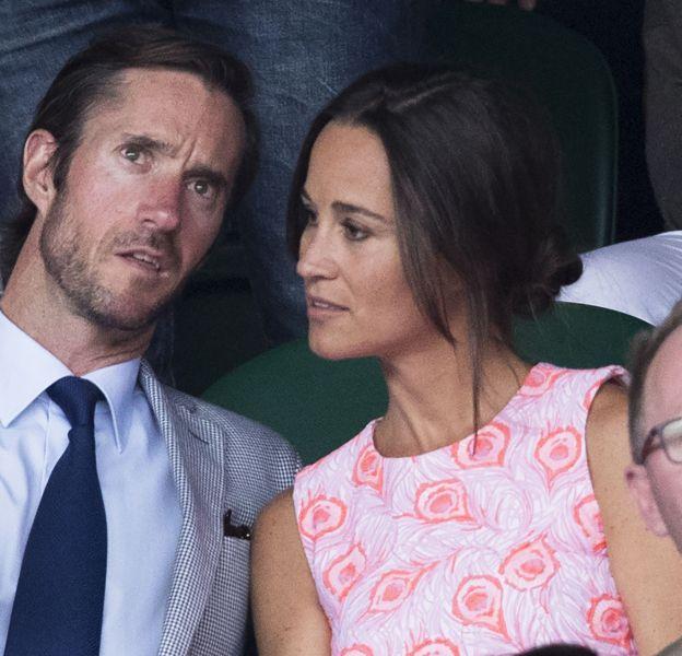 Pippa Middleton s'est fiancée à James Matthews.
