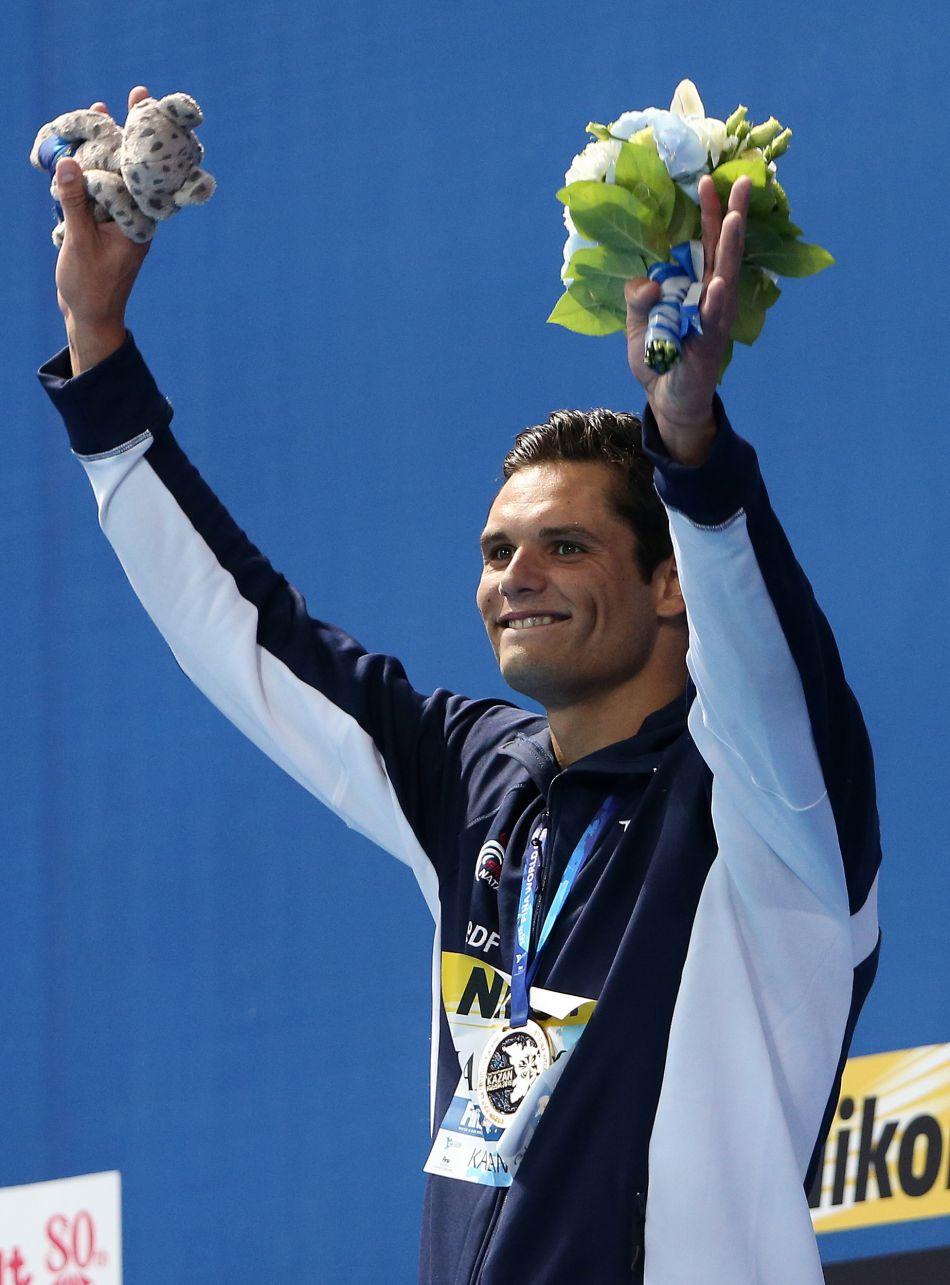 Florent Manaudou est triple champion du monde de 2015.