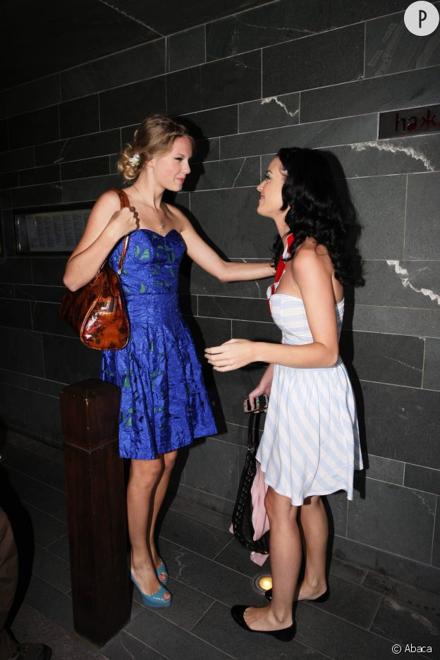Taylor Swift et Katy Perry complices avant leur dispute.