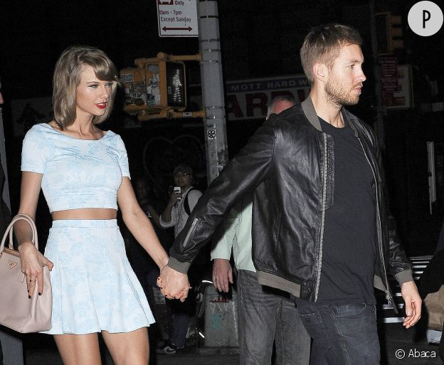 Taylor Swift et Calvin Harris, avant que le couple batte de l'aile.