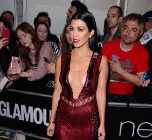 Kourtney Kardashian : maman super sexy en bikini blanc
