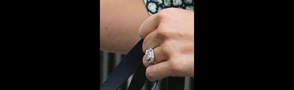 Pippa Middleton a une impressionnante bague en diamant au doigt. La veinarde !