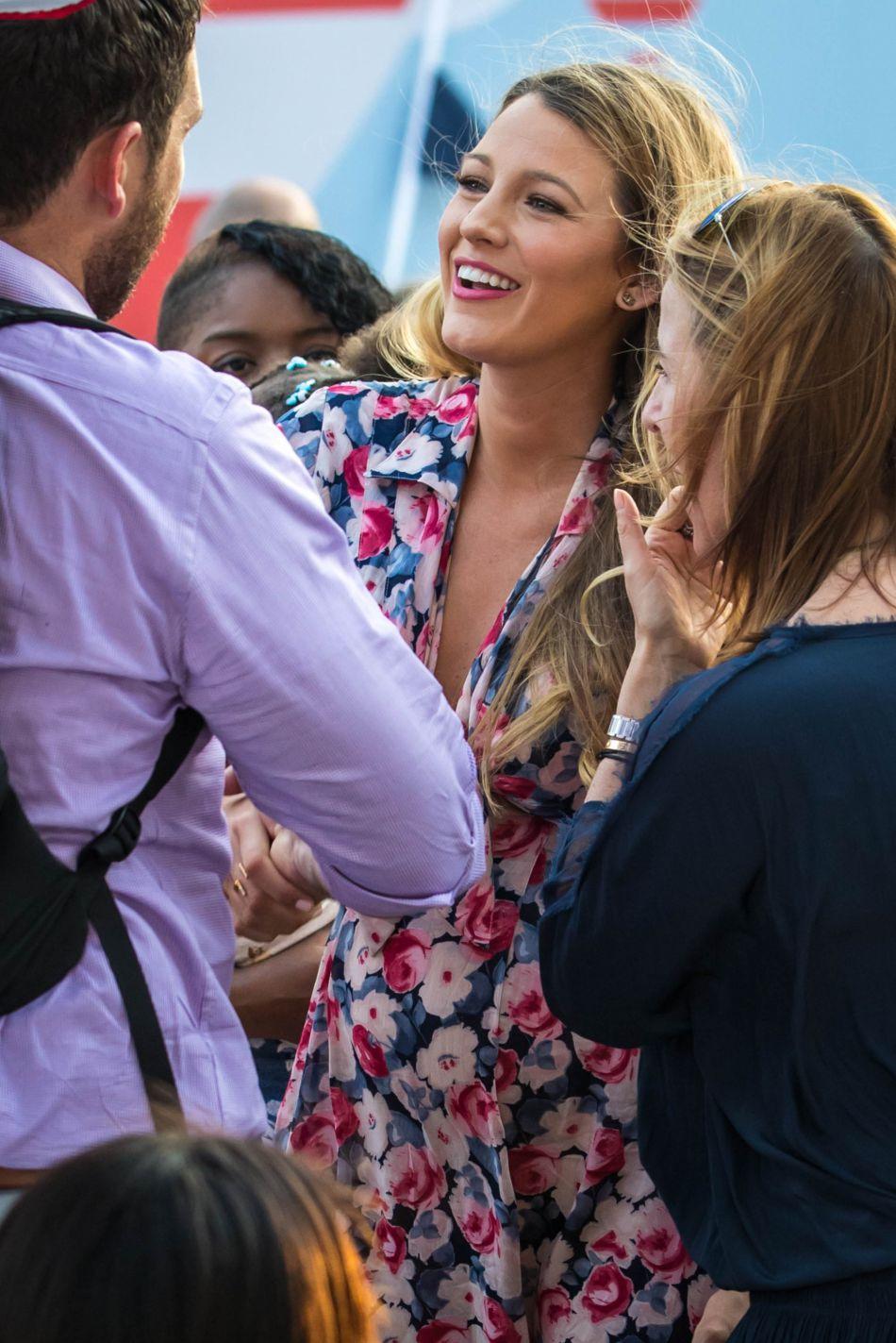 Bien qu'elle soit enceinte, Blake Lively se veut toujours stylé et glamour !