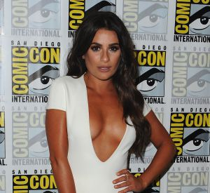 """L'actrice était à San Diego pour présenter la nouvelle saison de sa série """"Scream Queens""""."""