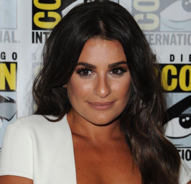 Lea Michele a fait une apparition sexy sur le tapis rouge du festival Comic Con.