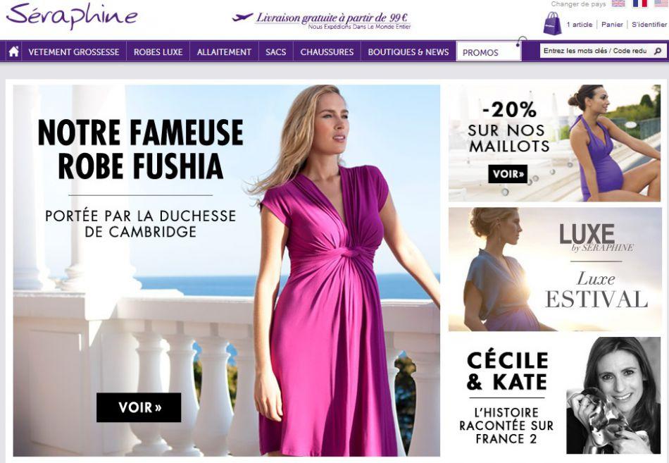 """Le coup de pub pour la marque Séraphine a été considérable. La créatrice Cécile Reinaud a appelé ça le """"Kate effect""""."""