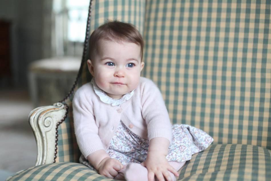 La princesse Charlotte, une petite fille qui inspire la marque Séraphine.