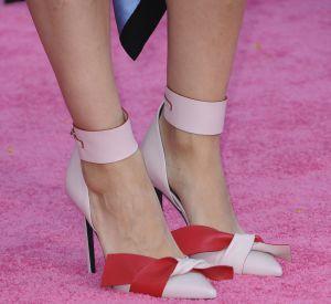 Mila Kunis a soigné l'accessoirisation de son look pour cette avant-première.