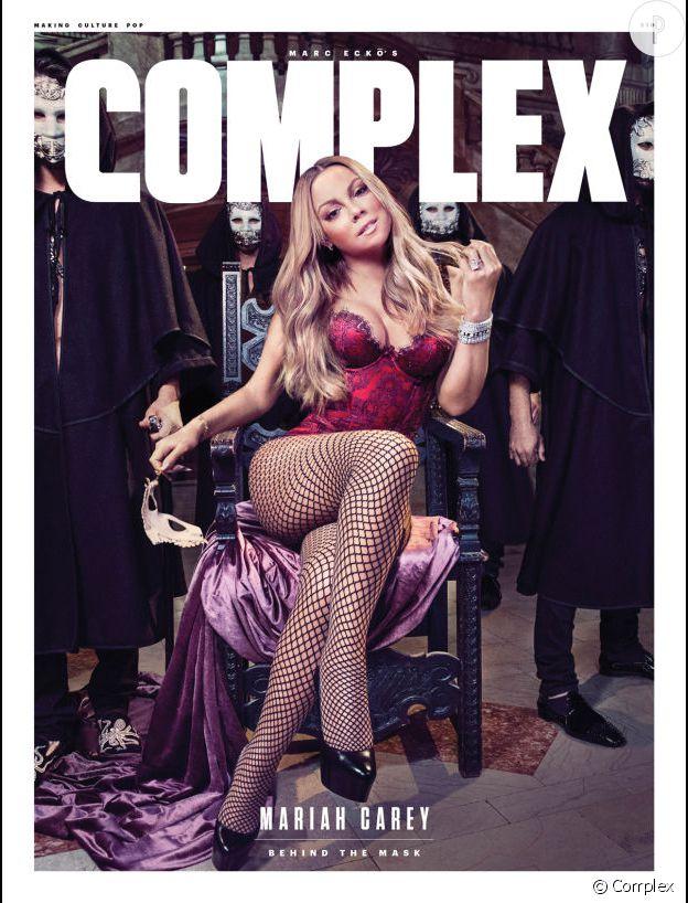 Mariah Carey en couverture de Complex.