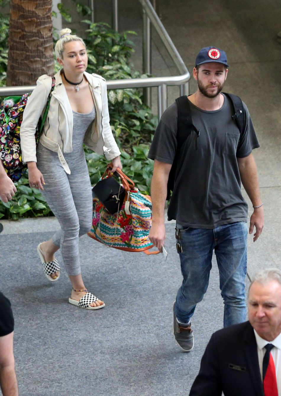 Miley Cyrus a,t,elle épousé Liam Hemsworth ?