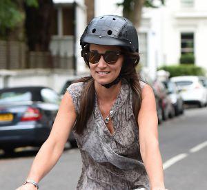 Pippa Middleton : la cycliste la plus canon de Londres en jean blanc moulant
