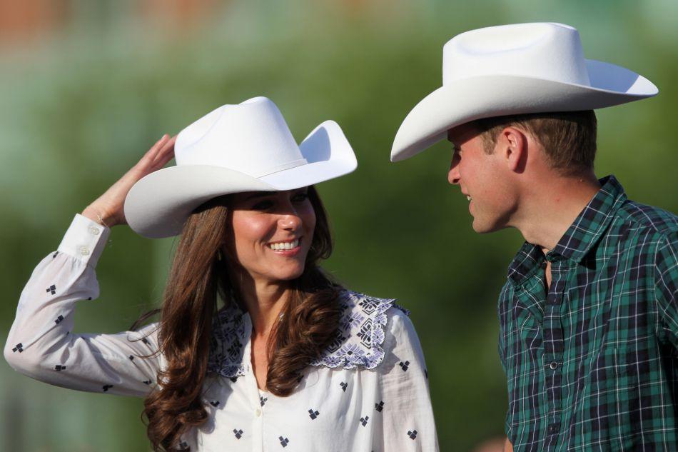 Kate Middleton au Canada en 2011, Stetson sur la tête !