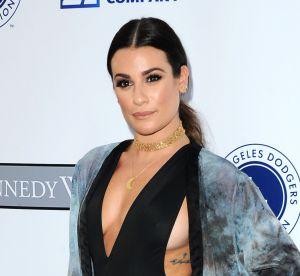 Lea Michele : alerte side boobs sur le tapis rouge, l'actrice en montre beaucoup