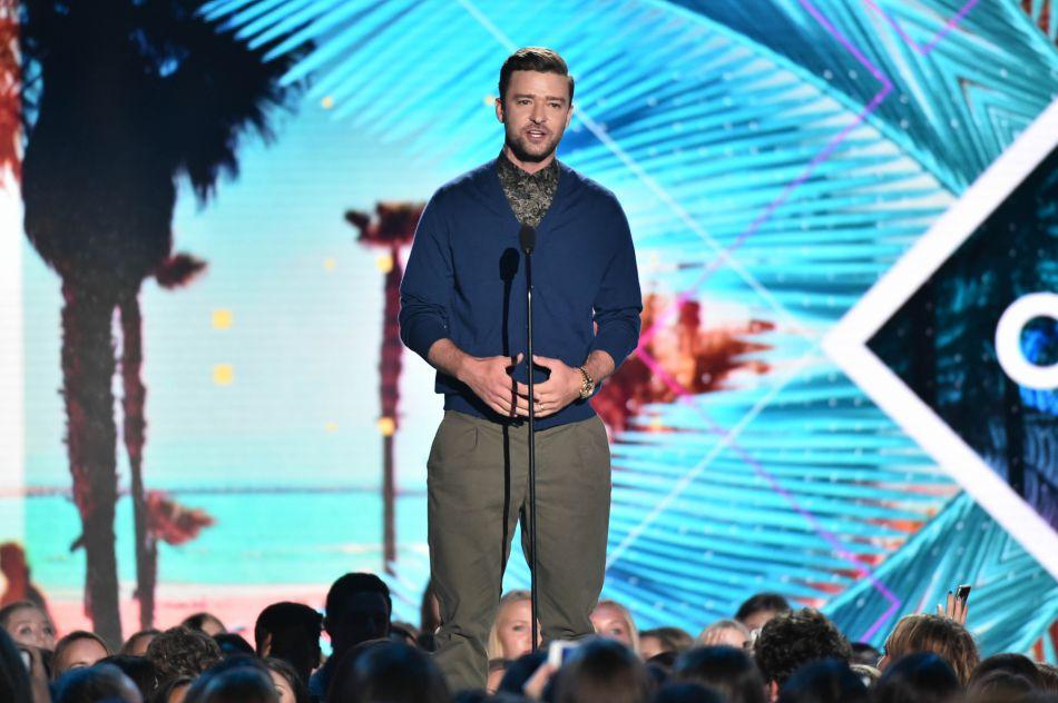 """Roi de la soirée, Justin Timberlake a été couronné """"artiste de la décennie""""."""
