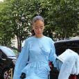 Rihanna à Paris. Son arrivée dans la ville a fait l'évènement.
