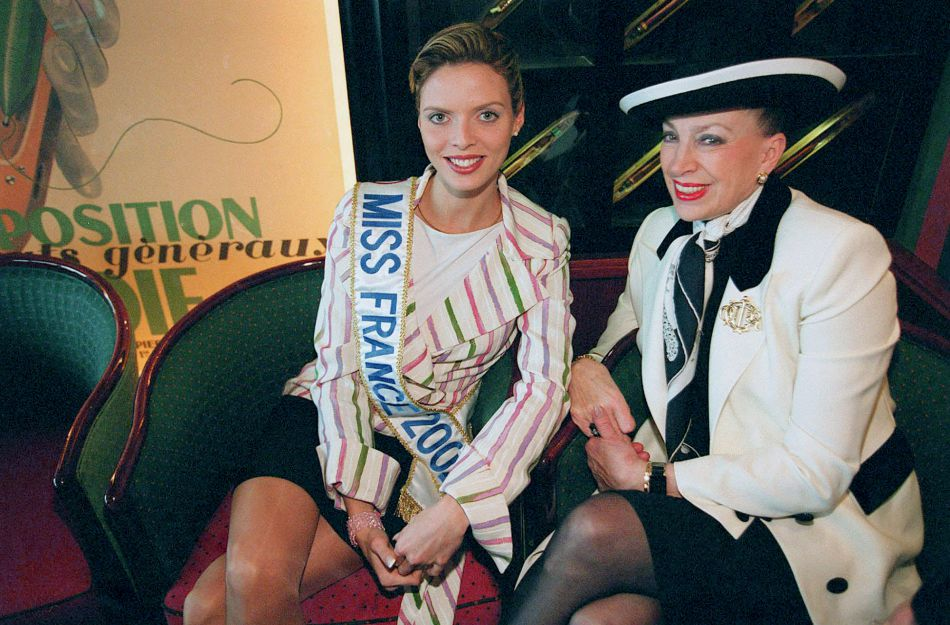 Sylvie Tellier, Miss France 2002, peu de temps après son élection.