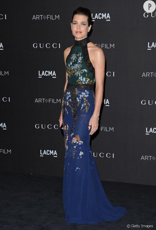 Avec sa robe Gucci, Charlotte fait sensation à la soirée du LACMA.
